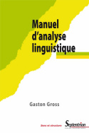 Manuel d'analyse linguistique