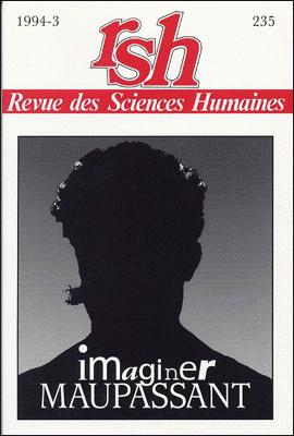 Revue des sciences humaines n 235 juillet septembre for Revue sciences humaines