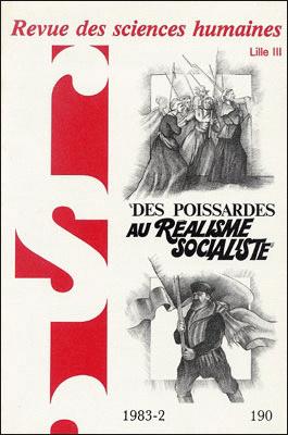 Revue des sciences humaines n 190 avril juin 1983 des for Revue sciences humaines