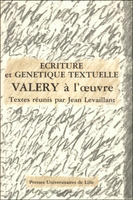 Ecriture et g n tique textuelle val ry l 39 oeuvre for Ecriture en miroir psychologie