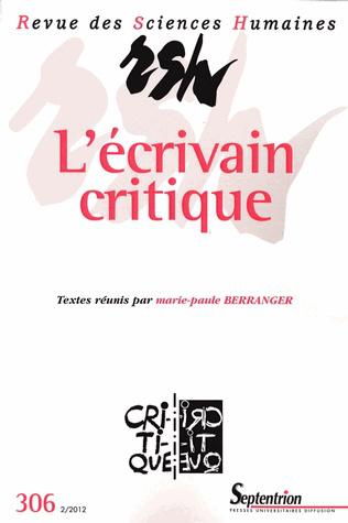Revue des sciences humaines n 306 avril juin 2012 l for Revue sciences humaines