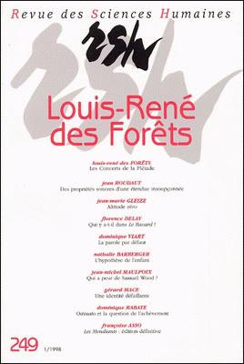Revue des sciences humaines n 249 janvier mars 1998 for Revue sciences humaines