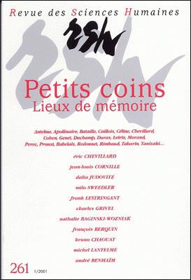 Revue des sciences humaines n 261 janvier mars 2001 for Revue sciences humaines