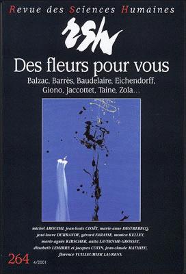 Revue des sciences humaines n 264 octobre d cembre 2001 for Revue sciences humaines