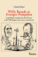 Willy Brandt et Georges Pompidou