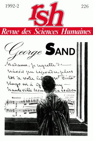 Revue des sciences humaines n 226 avril juin 1992 for Revue sciences humaines