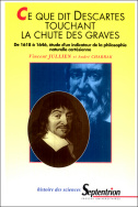 Ce que dit Descartes touchant la chute des graves