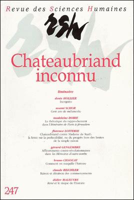 Revue des sciences humaines n 247 juillet septembre for Revue sciences humaines