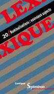 Lexique 20 / Nominalisations : nouveaux aspects