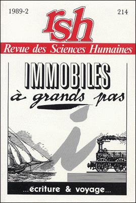 Revue des sciences humaines n 214 avril juin 1989 for Revue sciences humaines
