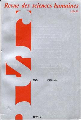 Revue des sciences humaines n 155 juillet septembre for Revue sciences humaines