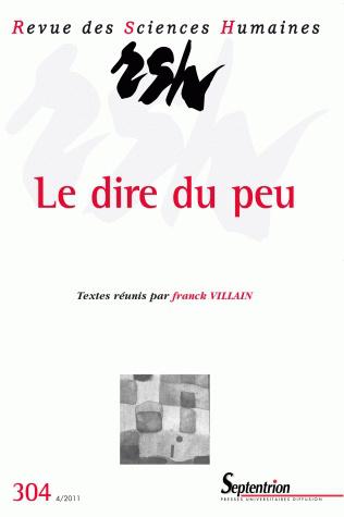 Revue des sciences humaines n 304 octobre d cembre 2011 for Revue sciences humaines