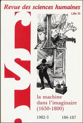 Revue des sciences humaines n 186 187 avril septembre for Revue sciences humaines