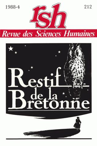 Revue des sciences humaines n 212 octobre d cembre 1988 for Revue sciences humaines