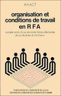 Organisation et conditions de travail en RFA