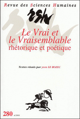 Revue des sciences humaines n 280 octobre d cembre 2005 for Revue sciences humaines