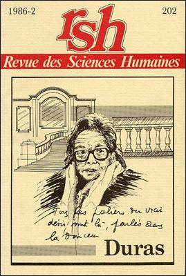 Revue des sciences humaines n 202 avril juin 1986 for Revue sciences humaines