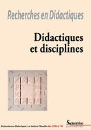Recherches en Didactiques, n°18/décembre 2014