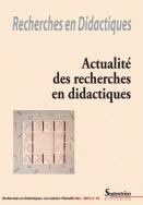 Recherches en Didactiques, n°12/décembre 2011