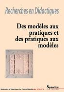 Recherches en Didactiques, n°16/décembre 2013
